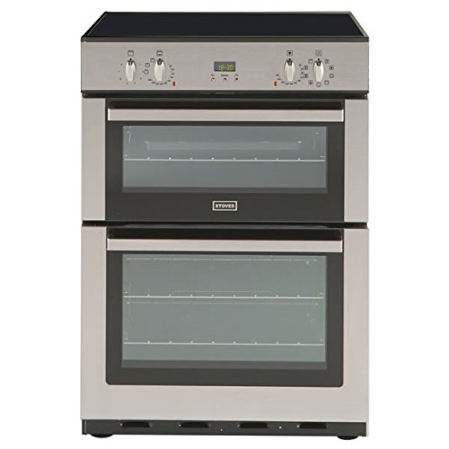 Stoves SE60MFPTISS 600mm Double Electric Cooker Induction Hob S\/Steel