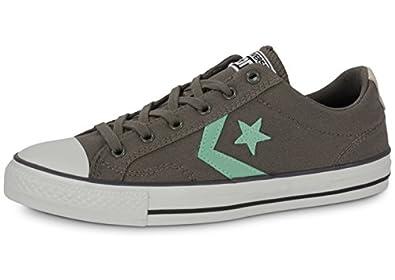 Converse Star Player Ev Ox Trainers Grey 3 Child UK