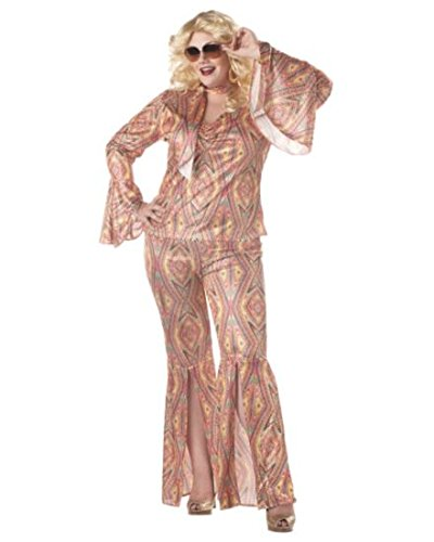 California Costume Collections CC01650_3X Discolicious Plus Womens Costume 3X