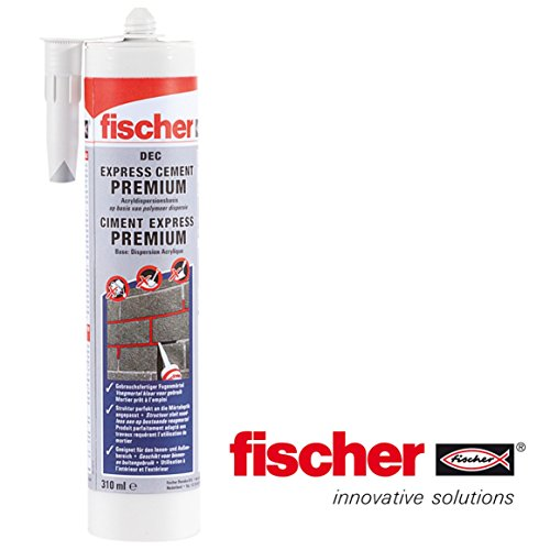 fischer-dec-express-premium-ready-mix-cement-repair-mastic-de-reparation-de-ciment-cartouche-de-310-