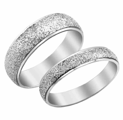 Moandy Jewelry Titanium Stainless Steel Men'S Rings Frosted Surface Wedding Bands Us Size 8 front-217249