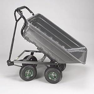Wf Garden Carts Plastic Dump Cart 60600096 800 LBS Capacity