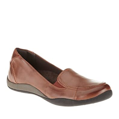 Orthaheel Womens Maddie Loafer Chocolate Size 5