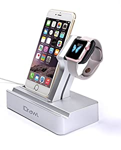 i-DRAWL Multipurpose Apple Watch Stand, Charging Station Angled to Apple Devices