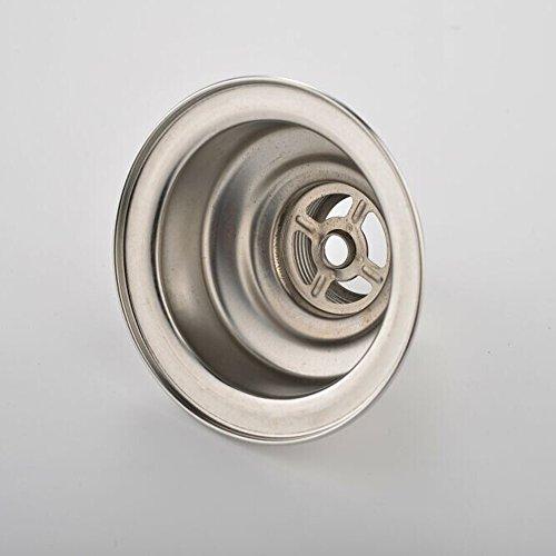 Utility Sink Strainer : Disposal Kitchen Sink Strainer, Universal Brushed Nickel Sink Strainer ...