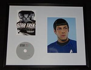Zachary Quinto Signed Framed 16x20 Star Trek DVD & Photo Display AW
