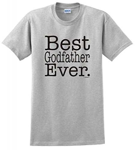 Best Godfather Ever T-Shirt Medium Ash front-652124