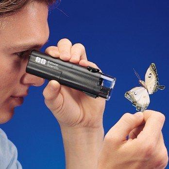 Scientifics Online Illuminated 30X Pocket Microscope