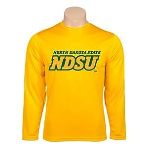 North Dakota State Syntrel Performance Gold Longsleeve Shirt 'NDSU-North Dakota State' - Small
