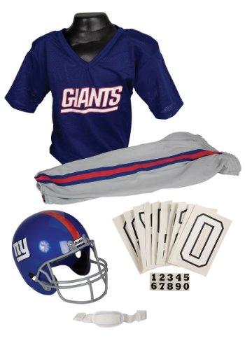 NFL New York Giants Deluxe Youth Uniform Set Medium
