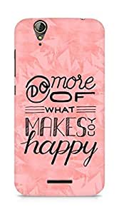AMEZ do more of what makes you happy Back Cover For Acer Z630S