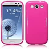 Samsung i9300 Galaxy S3 TPU Gel Skin Case / Cover (Solid Pink)by TERRAPIN
