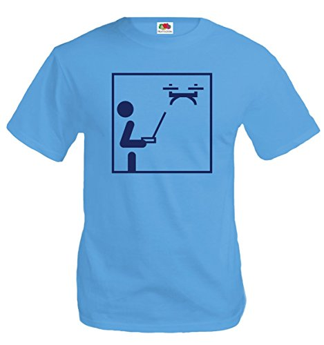 buXsbaum-T-Shirt-Drone-Pictogram