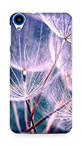 Amez designer printed 3d premium high quality back case cover for HTC Desire 820 (Feathers)