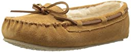 Minnetonka Women\'s Cally Slipper,Cinnamon,6 M US