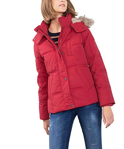 ESPRIT 096EE1G003, Giacca Donna, Rosso (RED), 42