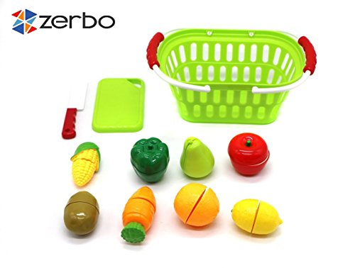 ZERBO-Deluxe-Fruits-and-Vegetable-Shopping-Chopping-Pretend-Playset-for-Kids