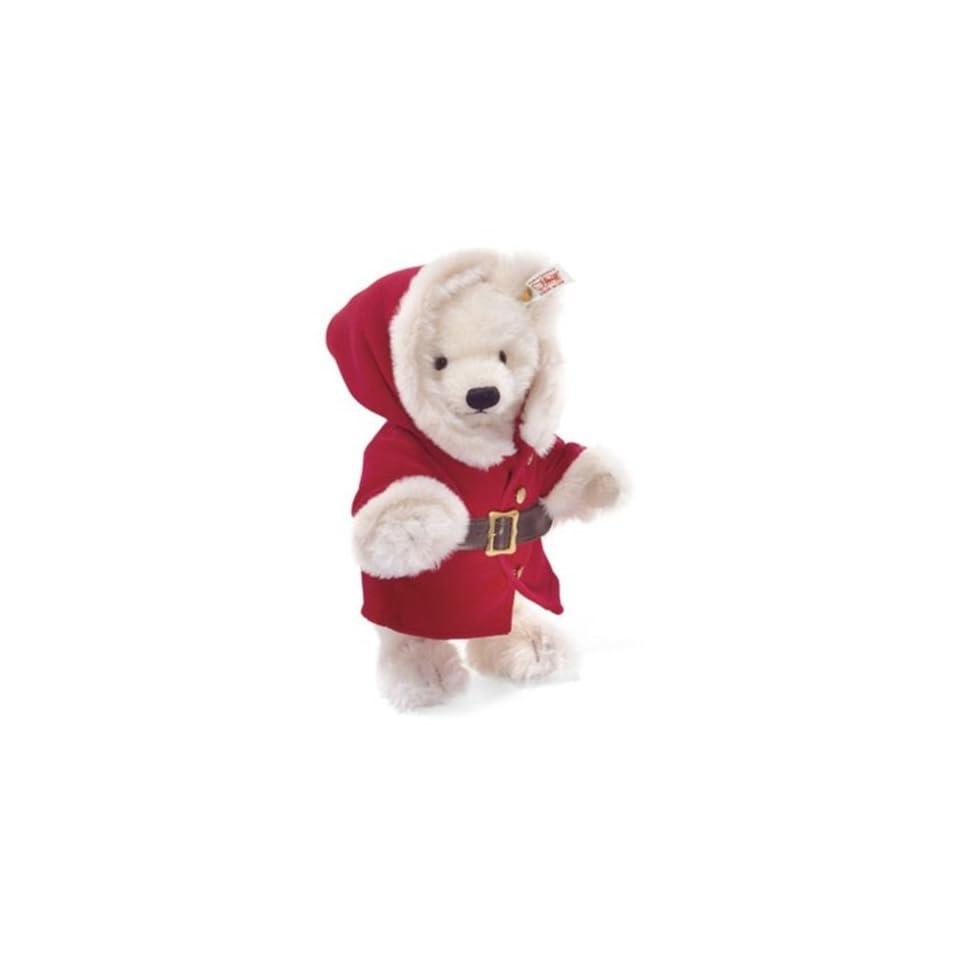 Steiff Christmas Teddy Bear Plush Toy Santa Claus