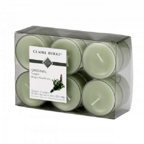 Claire Burke Original Tealights Scented Candle