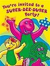 Barney Invitations 8ct