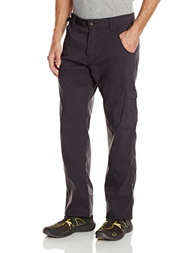 PrAna Men's Stretch Zion Pant (30-Inch Inseam) (Charcoal, Medium)