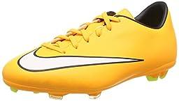 Nike Youth Mercurial Victory V Boys Soccer Shoes Laser Orange Black White