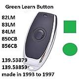 Craftsman Garage Door Opener Mini Remote Control Work with Green Learn Button