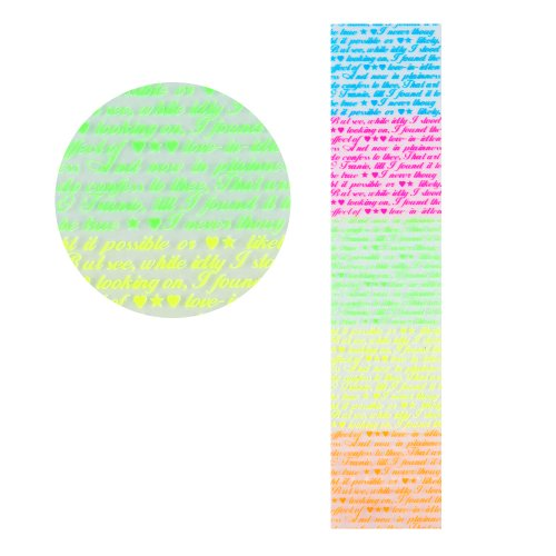 Yesurprise 1Pc Fluorescence Nail Art Sticker Design Tattoo Nailsticker Geschenk Gift Fluorescence Nail Decals Stickers Nail Diy Decorations Tz005