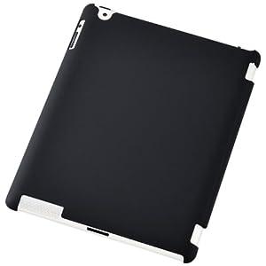 ELECOM iPad2用クレバーシェルカバー 9.7in TB-A11MPV3RBK