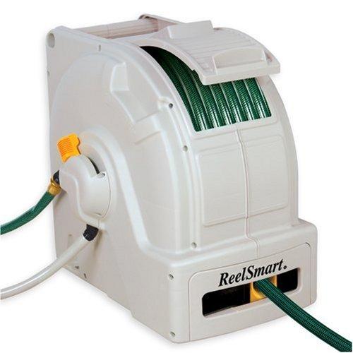 Crank Classic 100' Water Powered Retractable Garden Hose Reel #RS10001