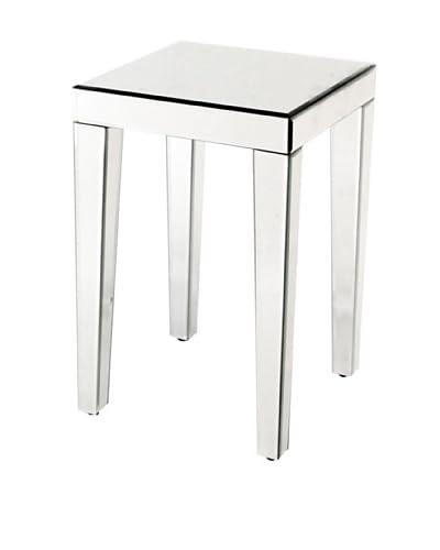 Charleston Beveled Mirror End Table