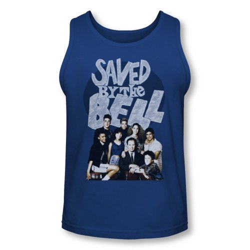 Saved By The Bell Sitcom Tv Series Nbc Retro Cast Adult Tank Top Shirt
