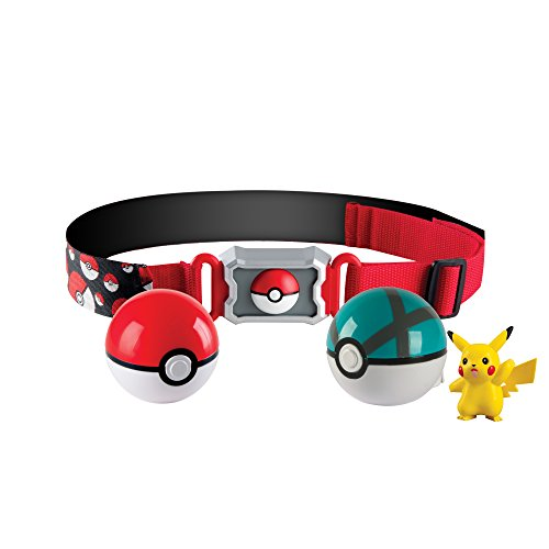 POKEMON Cintura per Sfere POKEBALL Serie CLIP And CARRY Versione 2 ORIGINALE TOMY Poke Ball