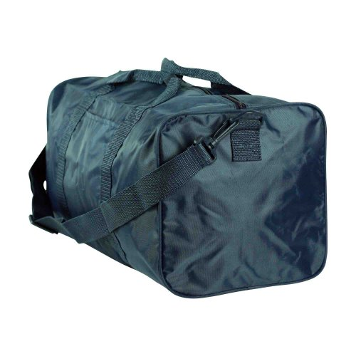 "19"" Nylon Square Duffle Bag In Navy Blue"