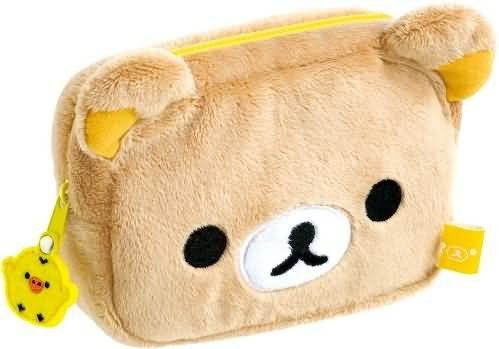Reel Neck Strap Rilakkuma Plush Doll [] TM