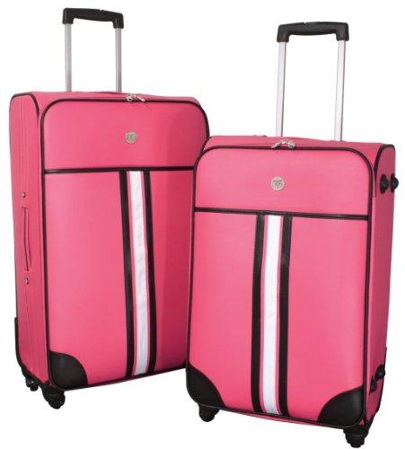 Kofferset 2tlg Amsterdam pink