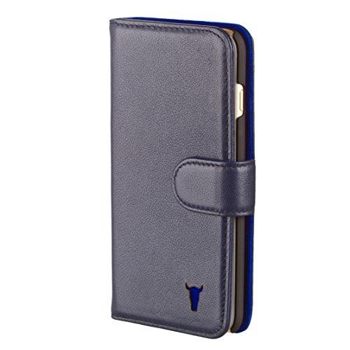 iPhone-6S-Plus-Custodia-Pelle-Protettiva-case-cover-Ultra-sottile-Pregiata-vera-pelle-portafoglio-per-le-carte-e-contanti-di-TORRO-in-pelle-Blu-per-iPhone-6-Plus-iPhone-6S-Plus
