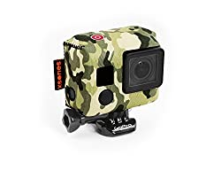XSories TuXSedo Neoprene Cover Fits All GoPro HERO Camera Housings (Jungle Camo)