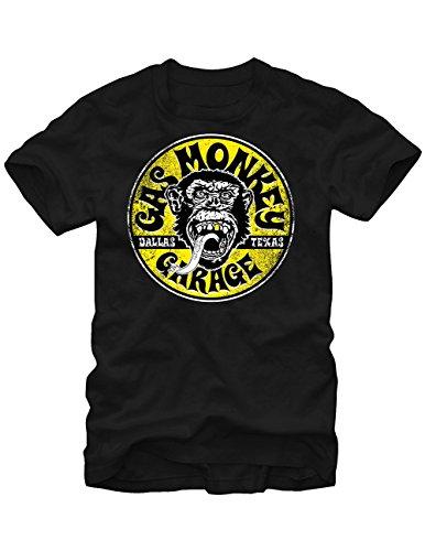 Gas Monkey Garage Dallas T-Shirt Fast Cars, Wicked Restorations