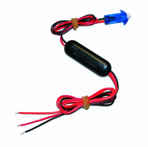 Varad Ll-Bl Blue Flashing Led Theft Deterrent