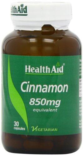 HealthAid Cinnamon 850mg- 30 Vegan Capsules