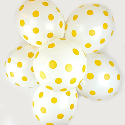 pack-of-10-12-assorted-latex-polka-dot-quality-party-birthday-wedding-balloons-white-gold