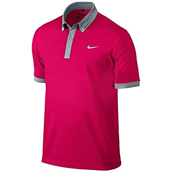 Nike Golf Ultra Polo 2.0 FUCHSIA FORCE/METALLIC SILVER S