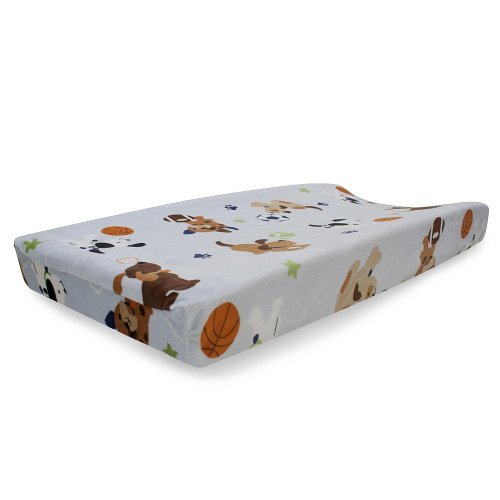 Bow Wow Buddies Changing Pad Cover - 1