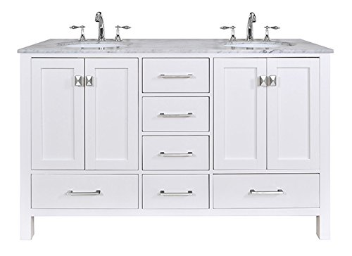 Stufurhome-GM-6412-60PW-CR-60-Inch-Malibu-Pure-White-Double-Sink-Bathroom-Vanity