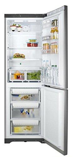 Indesit BIAA 13P V SI DR Intégré Acier inoxydable 212L 90L A+ - réfrigérateurs-congélateurs (Intégré, Bas-placé, A+, Acier inoxydable, SN, ST, T, Non, Droite)
