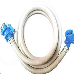 Classic Fully Automatic Washing Machine 2 Mtr Inlet Hose Pipe With Tap Adaptor