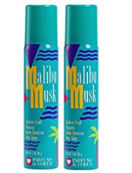 MALIBU MUSK – BODY SPRAY-PACK OF 2