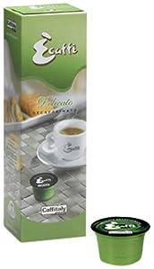 Caffitaly Ecaffe Delicato Decaffeinated Coffee Capsules x 80