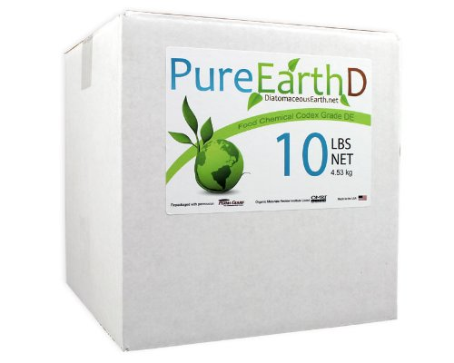 Organic Bedbug Killer Diatomaceous Earth DE - Gets Rid of Bed Bugs and Bed Bug Bites for Good by Nature's Wisdom